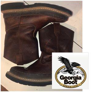 fb04665ab3b Georgia Boot Shoes | Toddler Boys 9 Logger Waterproof | Poshmark
